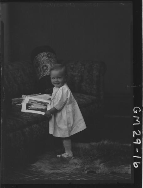 portrait of child, F/L Rogers