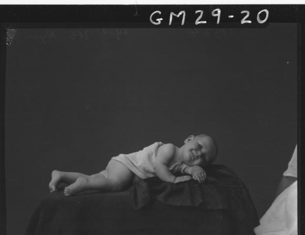 portrait of baby, Ryan