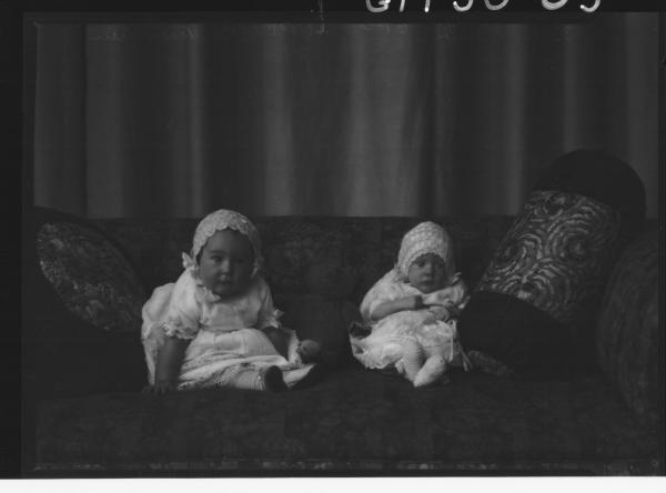 portrait of two babies, Nankerville