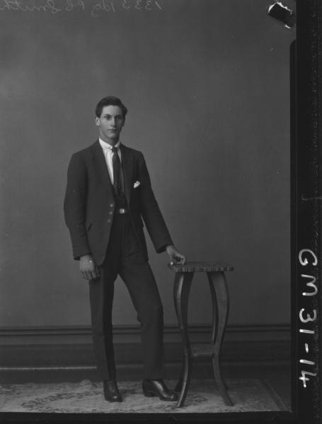 portrait of young man, F/L Smith