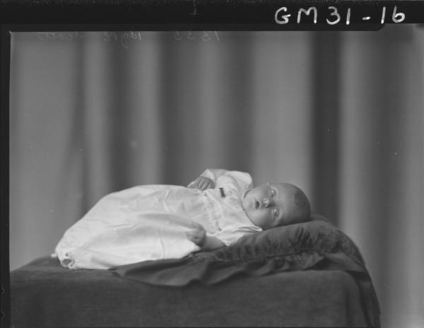 portrait of baby, Scott