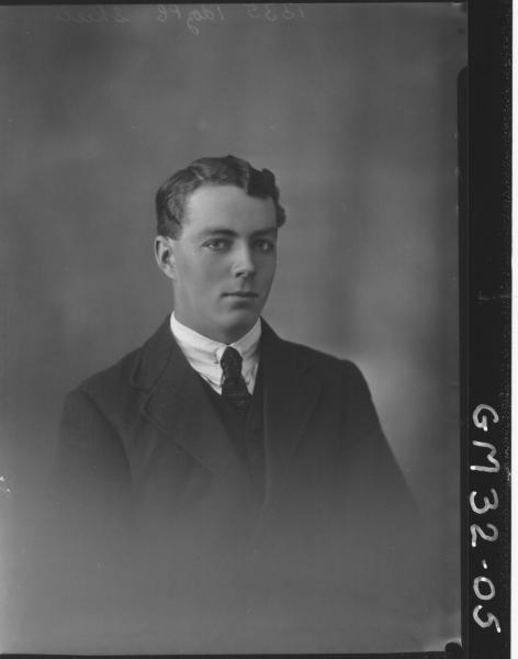 portrait of young man, H/S Shiel
