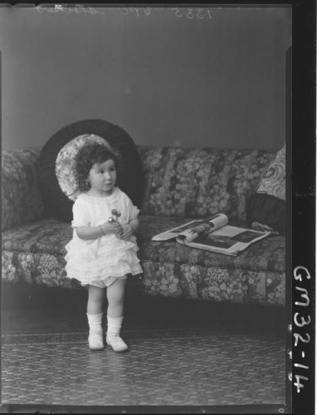 portrait of young child, F/L Shocker