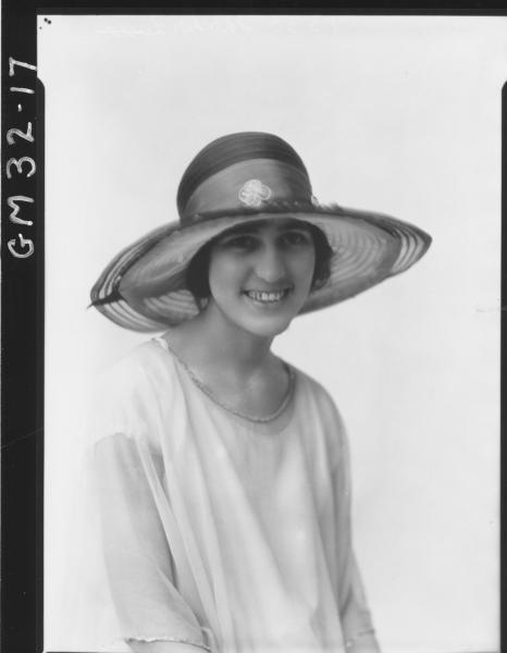 portrait of young woman, H/S Shocker