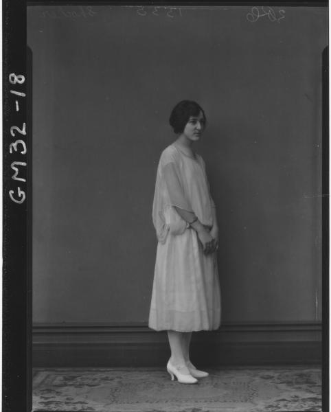 portrait of young women, F/L Shocker