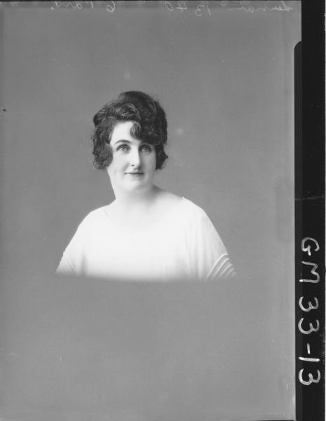 portrait of woman, H/S Lerman