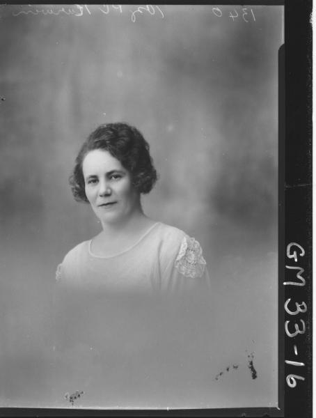 portrait of woman, H/S Kurwin