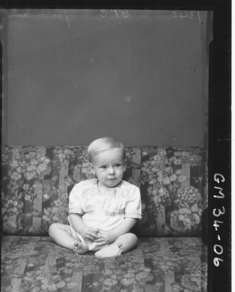 portrait of young child, Jackman
