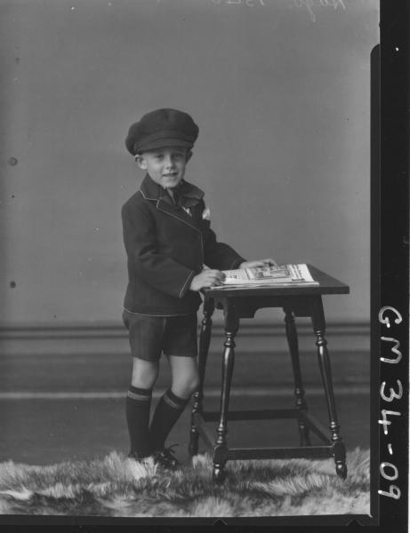 portrait of young boy, F/L Hugo