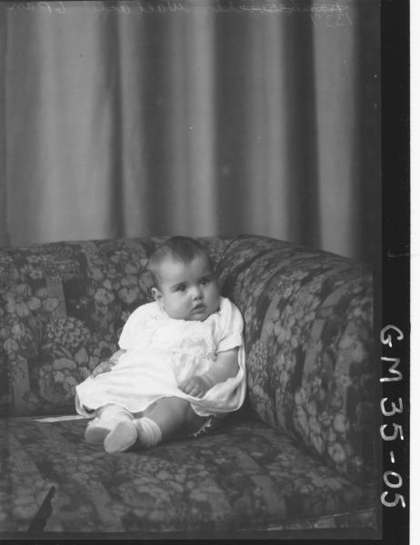 portrait of baby, Wallace