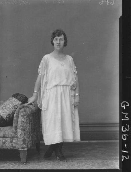 portrait of woman, F/L Williams