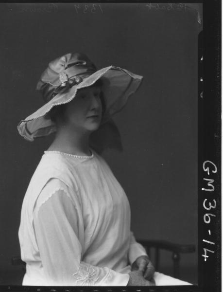 portrait of woman, H/S Brown