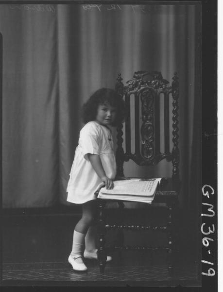 portrait of child, F/L Wilson