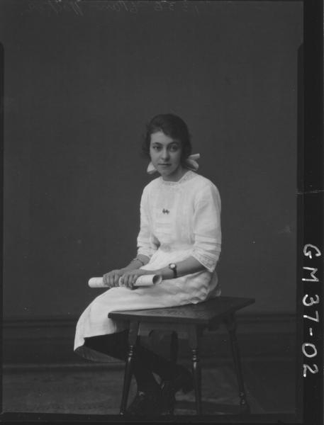 portrait of young woman, Walker