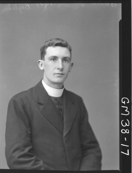 portrait of young Priest, H/S Boylen