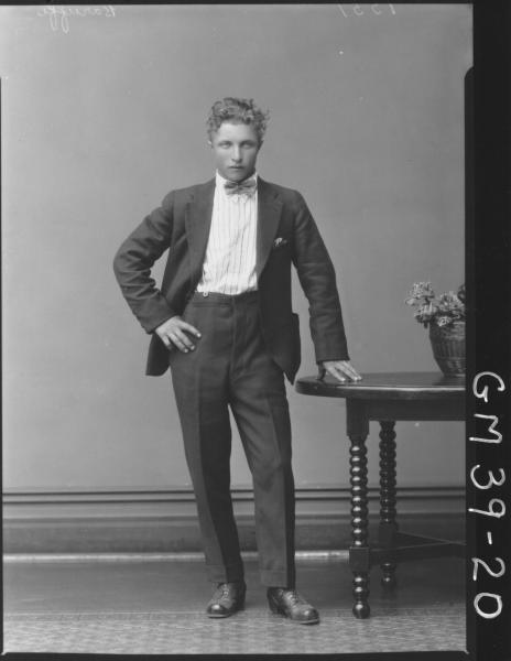 portrait of young man, F/L Baruffi