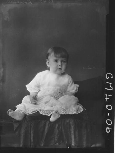 portrait of baby, F/L Rosenburg