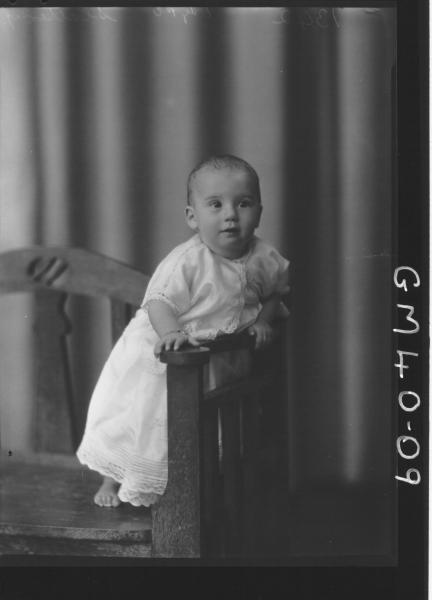 portrait of baby, F/L Slattery