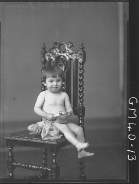 portrait of baby, F/L Reeves