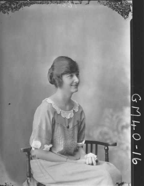 portrait of woman, H/S Smith