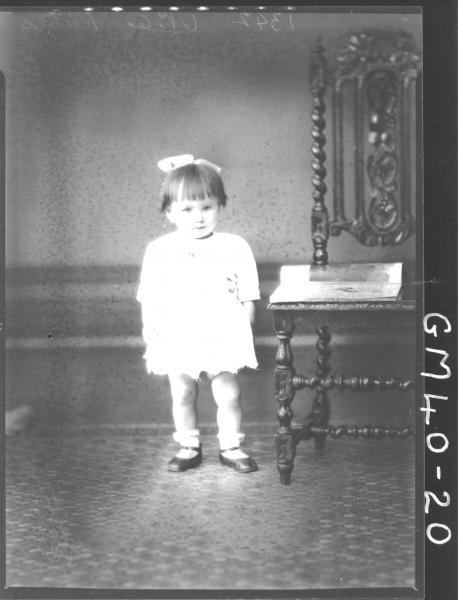 portrait of young child, F/L Reeves
