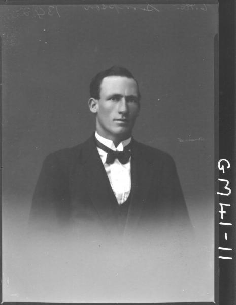 portrait of young man, H/S Simpson