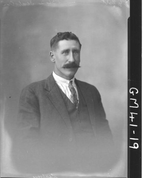 Portrait of man, H/S Seaborn
