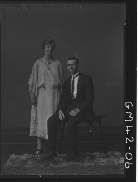 portrait of man and woman, F/L Ryan