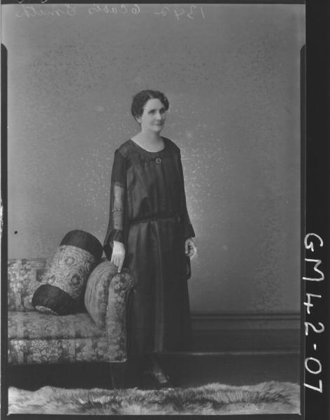 portrait of woman, F/L Smith