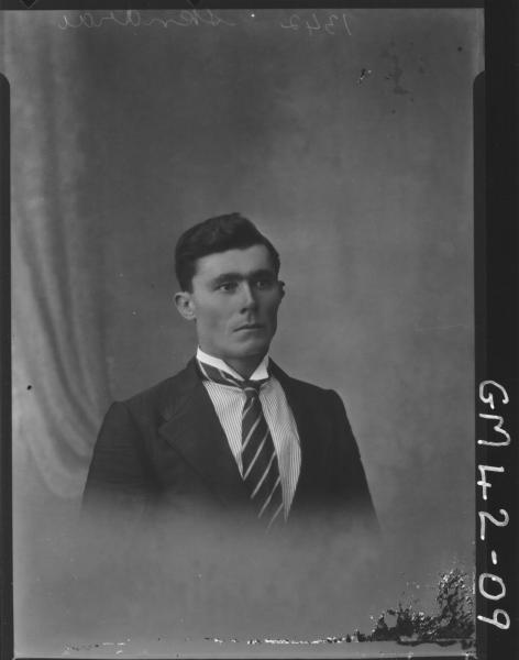 portrait of young man, H/S Skndrai