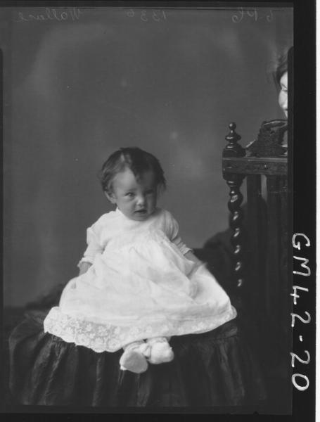 portrait of baby, F/L Wallace