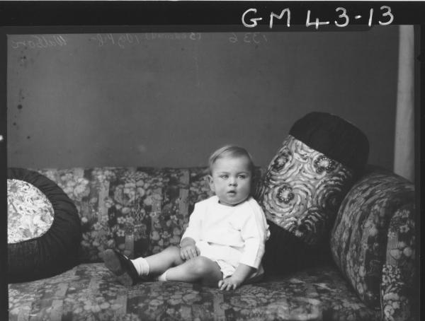 portrait of baby, F/L Watson