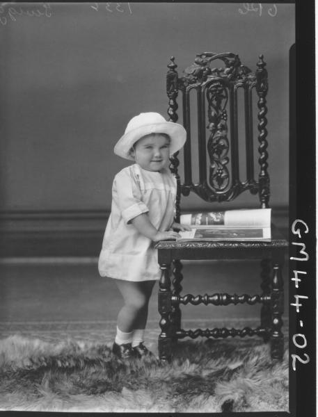 portrait of young child, F/L Twigg