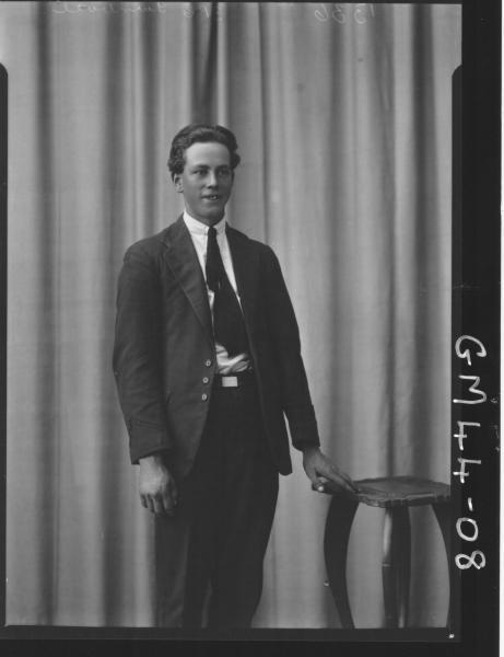 portrait of young man, F/L Turnbull