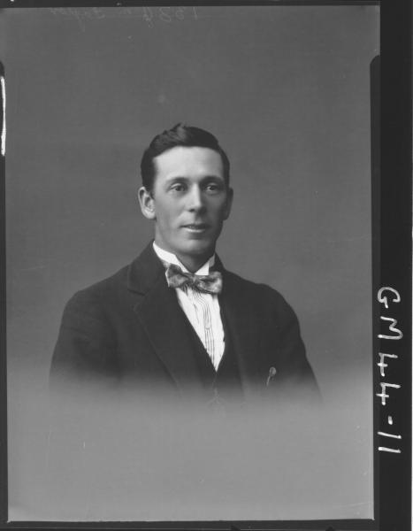 portrait of man, H/S Taylor