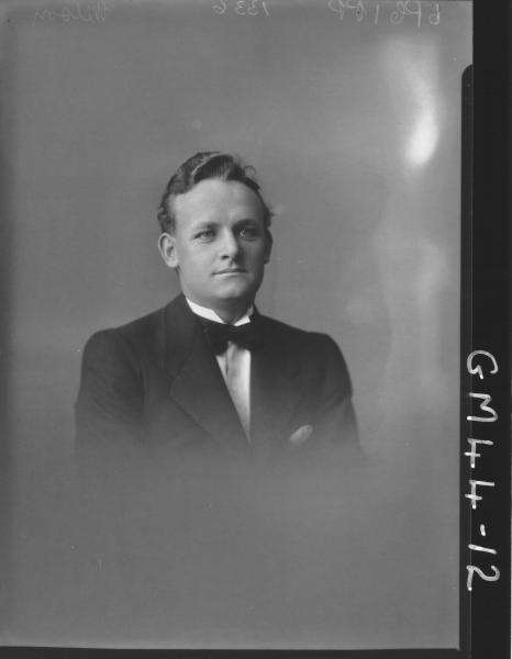 portrait of man, H/S Wilson