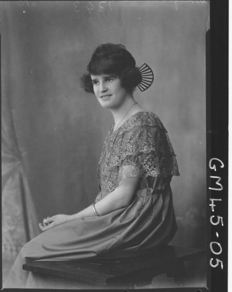 portrait of woman, Wright