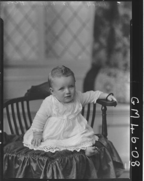 portrait of baby, F/L Hess