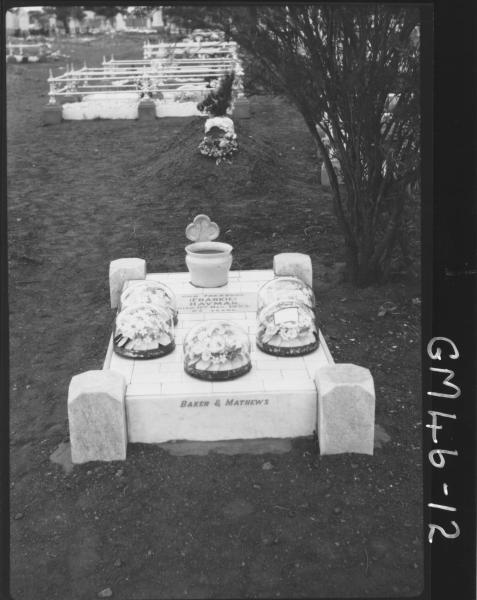grave of Frankie (Frank L) Hayman, 11/12/23 Haymen Kalgoorlie Cemetery.