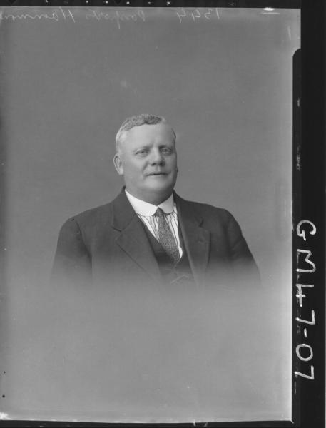 portrait of man, H/S Passport Hammond