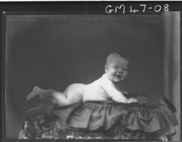 portrait of baby, F/L Dawson