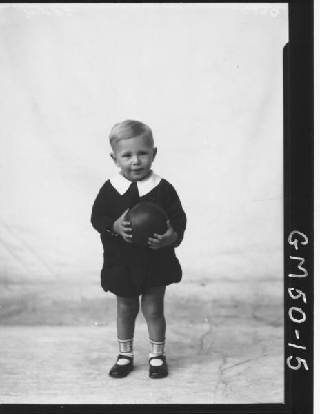 portrait of boy, F/L Eddie
