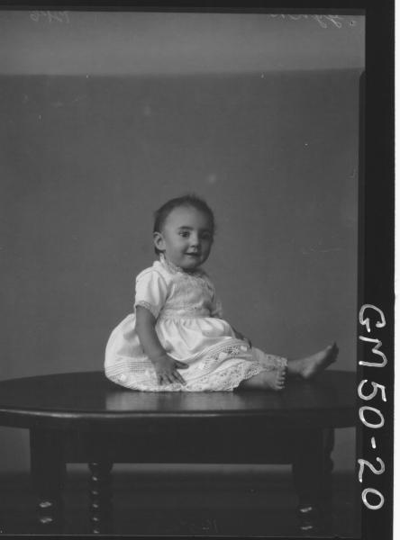 portrait of child, F/L Gynn