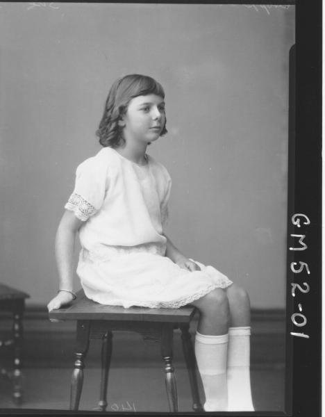 portrait of girl, F/L Hoppner