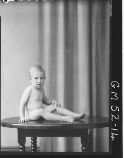 portrait of baby, F/L Gard