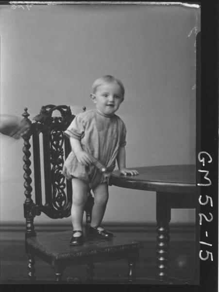 portrait of child, F/L Goldworthy