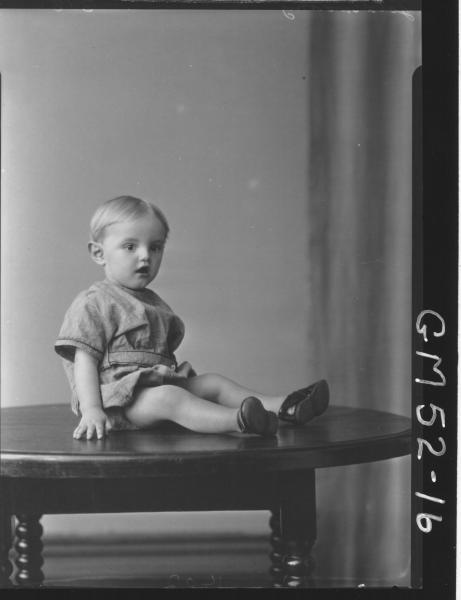 portrait of child, Goldworthy