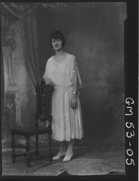 PORTRAIT OF WOMAN, F/L BRYAN