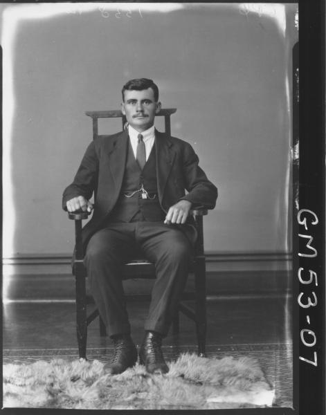 PORTRAIT OF MAN, F/L BERICH