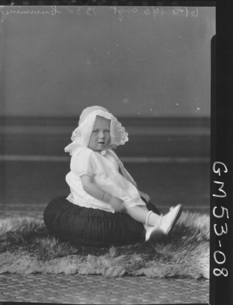 PORTRAIT OF CHILD, CUMMINGS